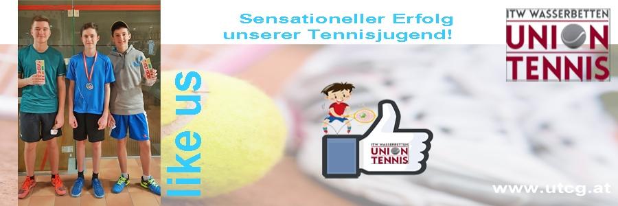 Sensationeller Erfolg unserer Tennisjugend!